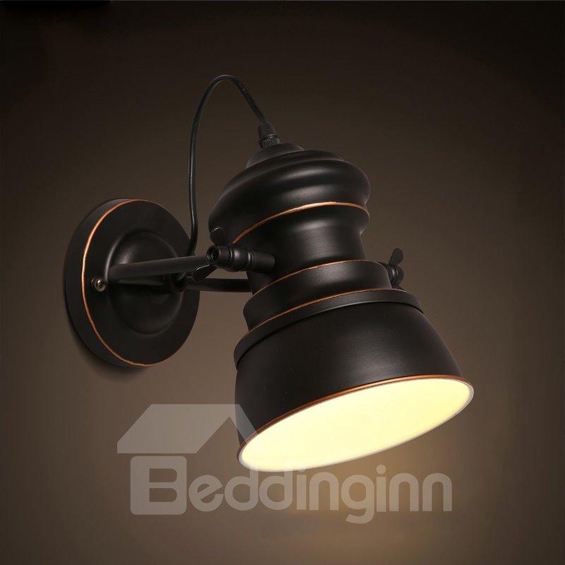 Retro European Style Simple Hardware 1-Head Decorative Wall Light