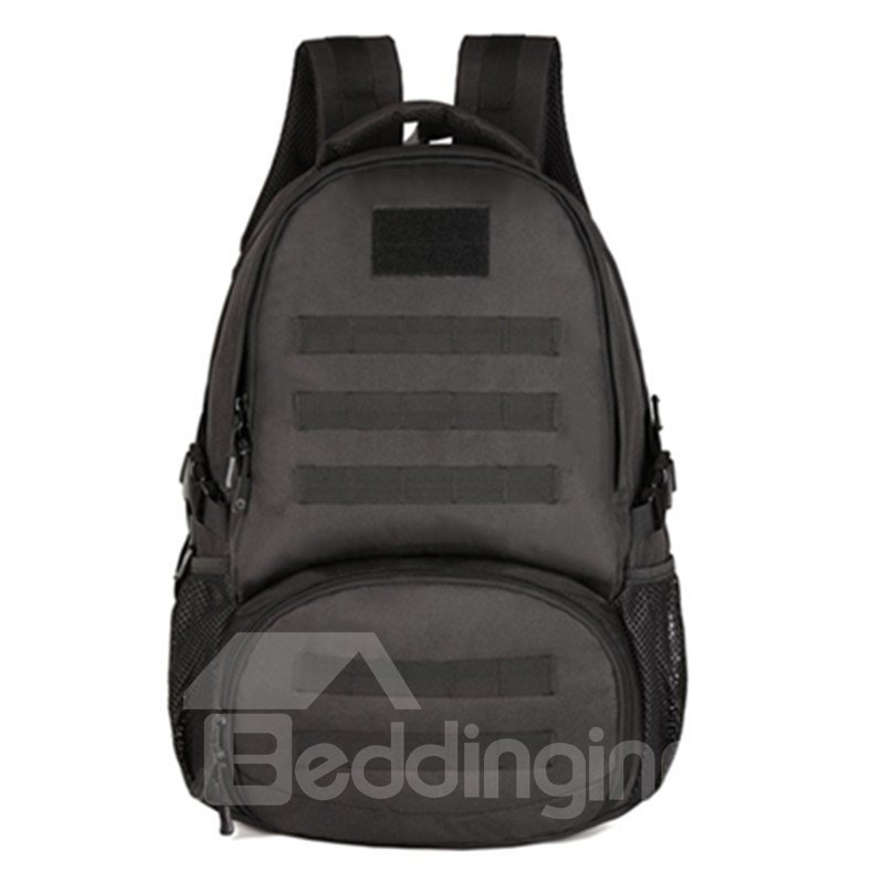 35L Lightweight Breathable Black Camo Military School Bag Outdoor Camping Backpacks