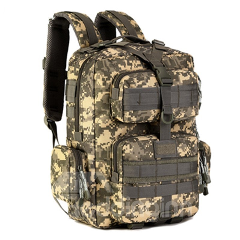 30L Shoulder Bag Waterproof Military Large Capacity Perfect for Hiking Climbing Camping Travelling