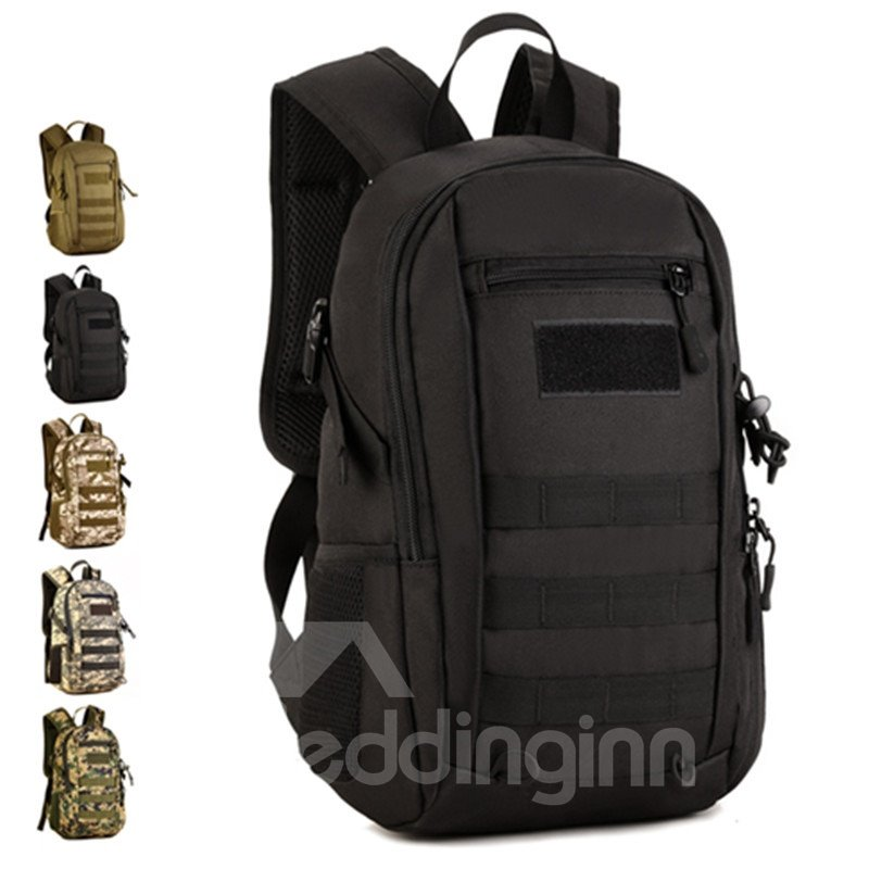 12L Waterproof Lightweight Nylon Leisure Outdoor Camping School Bag Backpack