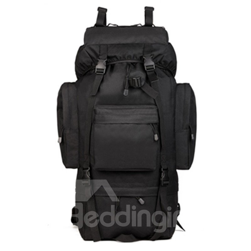 65L Large Capacity Drawstring Waterproof Breathable Adjustable Outdoor Caming Backpack