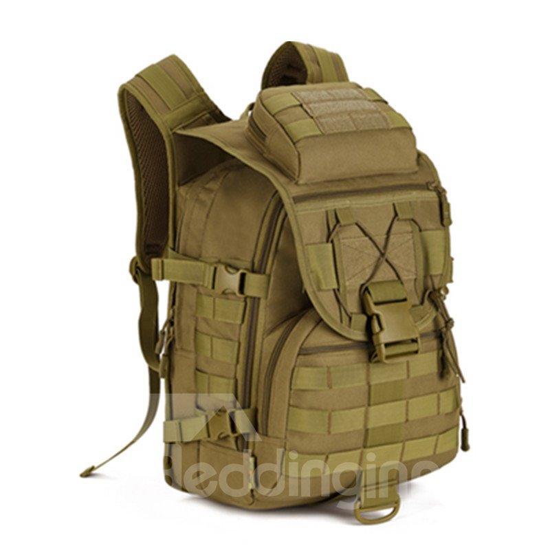 40L Waterproof High Capacity MOLLE Lightweight Mesh Outdoor Backpack