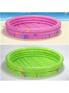Portable Inflatable Round Shape PVC Pure Color SPA Bathtub