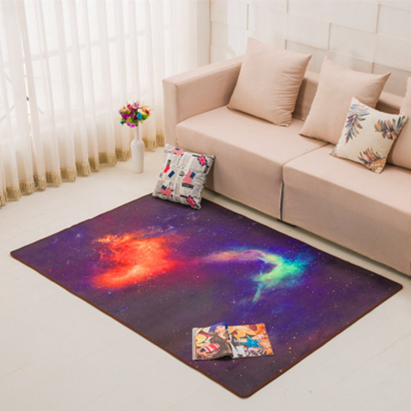 Northern Europe Style Universe Galaxy Creative Modern Area Rug