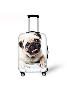 Puppy Dog 3D Printing Spandex Travel Dust proof Luggage Cover