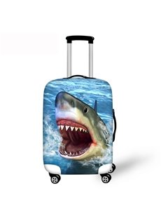 3D Printing Shark Spandex Travel Dust proof Luggage Cover