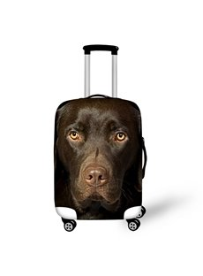 3D Animals Pattern Dog Cool Waterproof Anti-Scratch Travel Luggage Cover