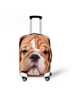 3D Shapi dog Pattern Waterproof Luggage Cover Protector 19 20 21
