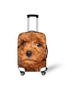 3D Pattern Teddy Dog Waterproof Suitcase Protector 19 20 21