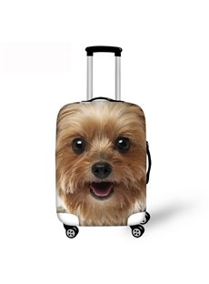 3D Lovely Dog Pattern Waterproof Suitcase Protector 19 20 21