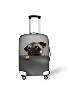3D Pattern Boring Dog Waterproof Suitcase Protector 19 20 21