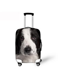 3D Adorable Dog Pattern Waterproof Luggage Cover Protector 19 20 21