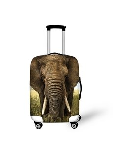 3D Elephant Animasls Pattern Waterproof Luggage Cover Protector 19 20 21