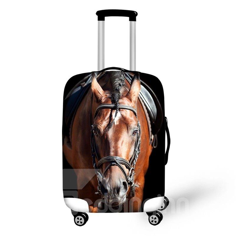 3D Horse Animal Pattern Waterproof Suitcase Protector 19 20 21
