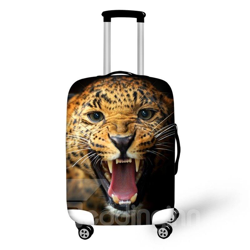 Leopard Roar 3D Pattern Travel Luggage Cover 19 20 21