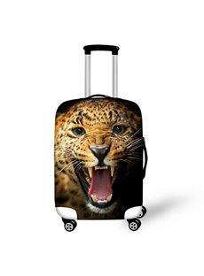 Leopard Roar 3D Pattern Travel Luggage Cover 19 20 21