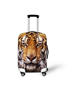 3D Tiger Pattern Waterproof Luggage Cover Protector 19 20 21