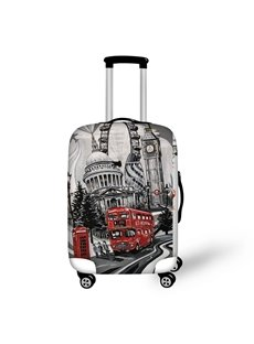 England Big Ben View Travel Luggage Cover Suitcase Protector 19 20 21