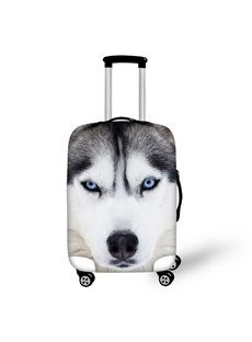 Wolf Face 3D Pattern Travel Luggage Cover Suitcase Protector 19 20 21