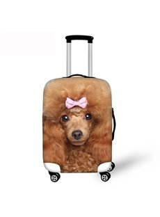 Poodle Puppy Dog Travel Luggage Cover 3D Pattern 19 20 21