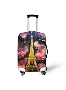 Eiffel Tower 3D Pattern Travel Luggage Cover Suitcase Protector 19 20 21