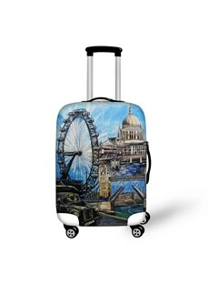 3D London Views Pattern Waterproof Suitcase Protector 19 20 21