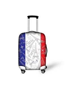 Flag Paris 3D Pattern Travel Luggage Cover Suitcase Protector 19 20 21