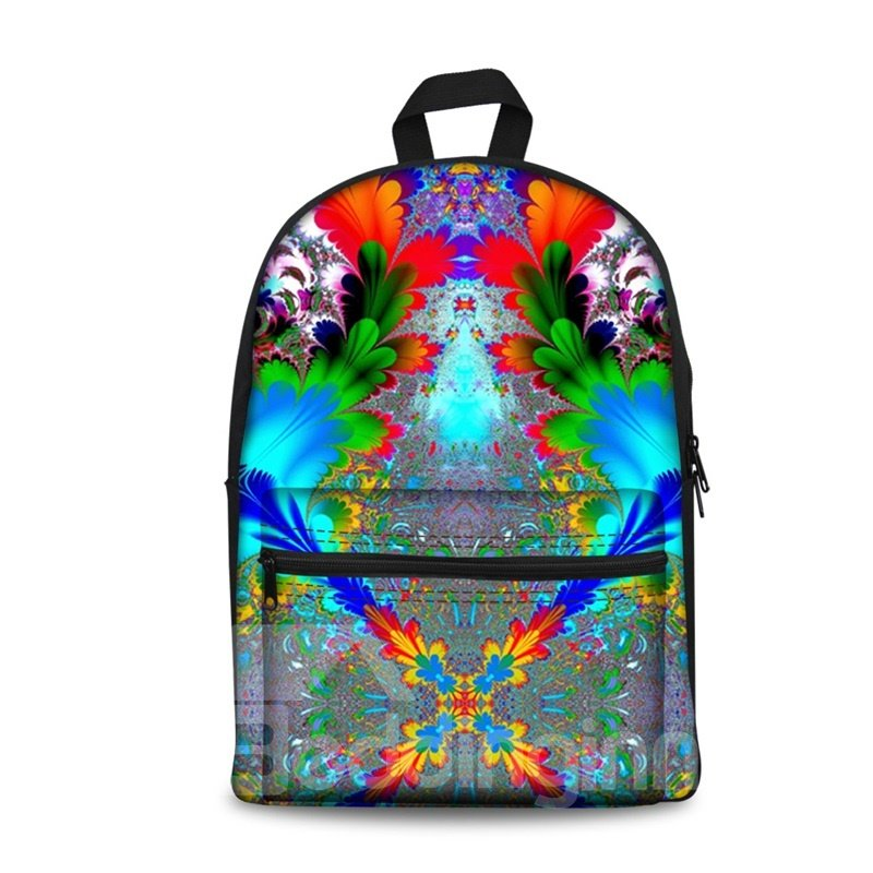 Mystery Bohemia Amazing 3D Pattern School Outdoor for Man&Woman Backpack