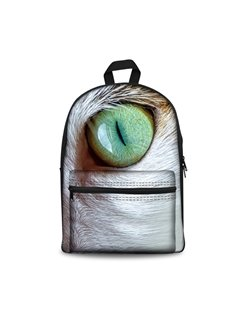 New 3D Animals Huge Eyes Print Backpack School Bags Cool Casual Laptop Packs