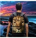 Hot New 3D Animals Tigers Print Backpack School Bags Cool Casual Laptop Packs