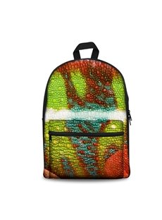 New Fashion 3D Modern Style Abstract Painting Backpack Students School Campus Bags