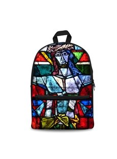 3D Vintage Jesus God Church Pattern School Outdoor for Man&Woman Backpack