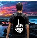FXXK Figer Show Personality Style 3D Pattern School for Man&Woman Backpack