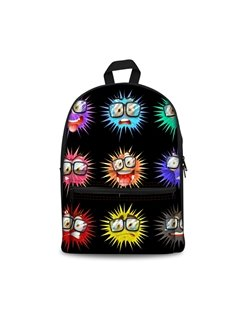 Boom Insect Color Happy Cool Style 3D Pattern SchoolBag Outdoor Backpack