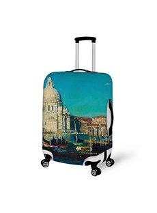 3DTaj Mahal Pattern Waterproof Suitcase Protector 19 20 21