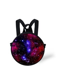 Galaxy Sky Pattern School Bag Shoulders Backpack