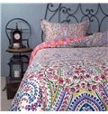 Full Size Bohemia Pattern Ethnic Style Cotton 4-Piece Bedding Sets/Duvet Cover