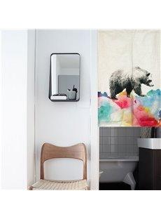33*35in Watercolor Bear Pattern Versatile Wall/Door Tapestry
