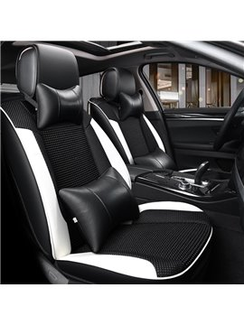 Modernistic Design Luxury Sports Series Contrasting Colors Universal Car Seat Covers