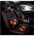 Luxury Sports Design Contrasting Colors With Pillows Universal Fit Car Seat Cover