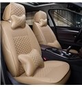 Custom Made Sleek And Comfortable Cooling Middle Section Leather Car Seat Covers
