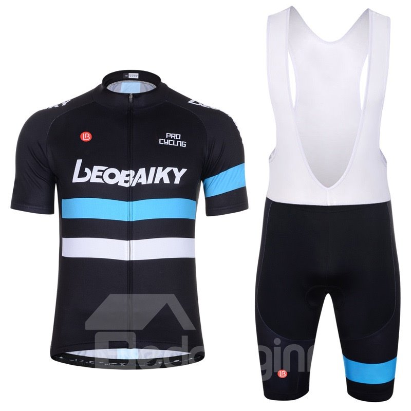 Men Shorts Padded Cycling Pants Bicycle Jersey Sky