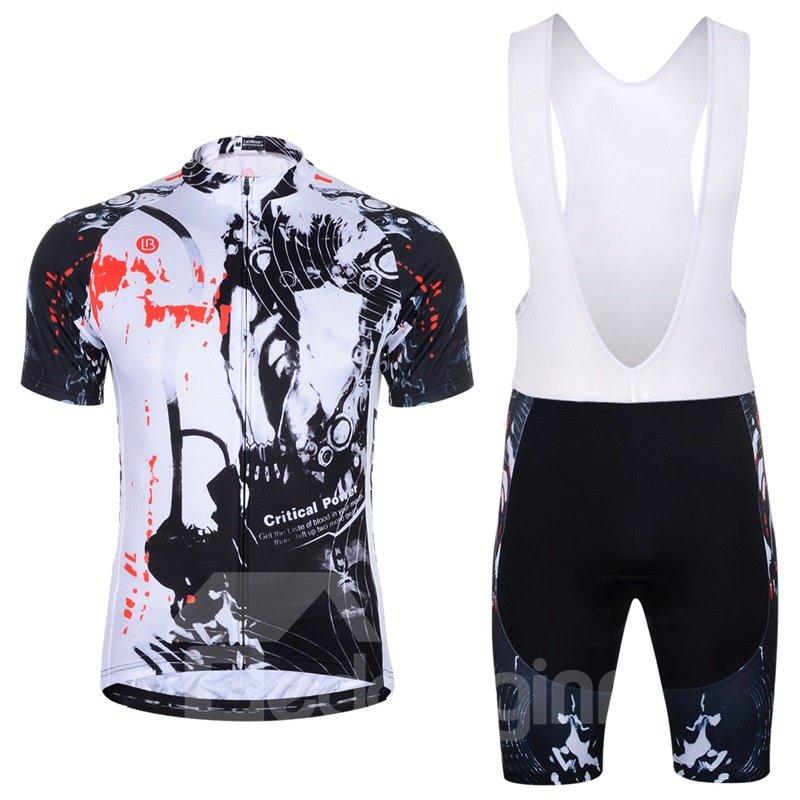 Men Shorts Padded Cycling Pants Bicycle Jersey Dark