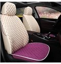 Dual Colored Theme Plaid Design Comfortable Custom Fit Car Seat Covers