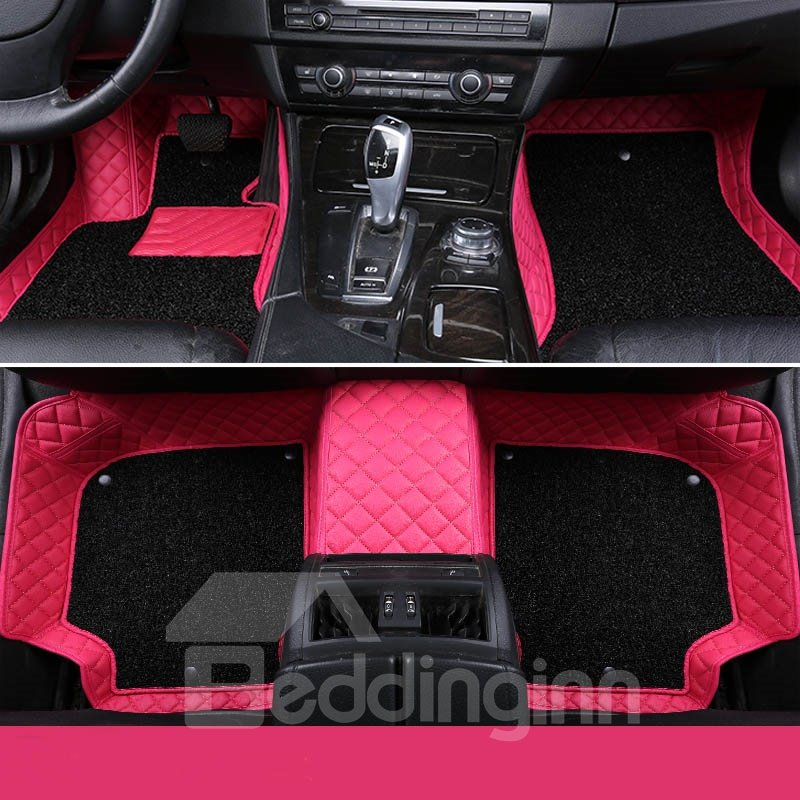 Luxury Double Layered All Weather Custom Fit Car Floor