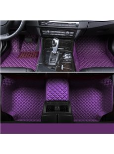 All Weather Series All Around Protection Stylish Purple Custom Fit Car Floor Mats