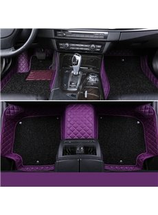All Weather Series Double Layered Protective Custom Fit Car Floor Mats