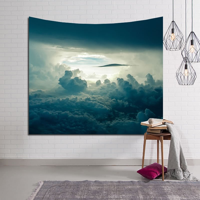 Magnificent Cloud Sea Decorative Hanging Wall Tapestry
