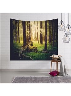 Peaceful Woods Design Mystery Decorative Hanging Wall Tapestry