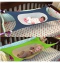 43*26in Portable Simple Style Net and Cloth Fabric Infant Baby Crib Hammock Sleeper